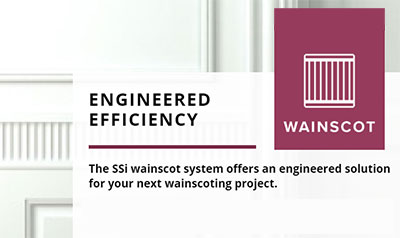 wainscot system